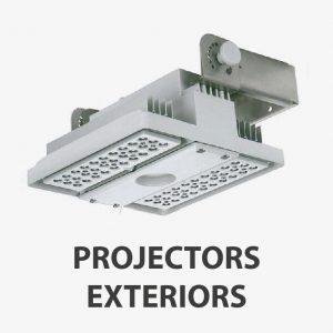 Projectors exteriors
